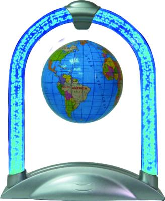 Floating Globe with Lighted LED Arch