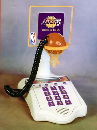 Lakers NBA Basketball Phone