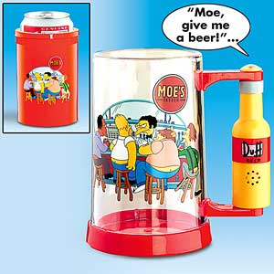 SIMPSON MUG CAN COOLER