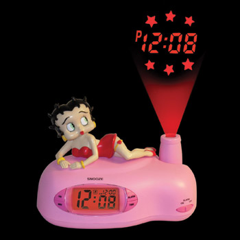 Boop Projection Clock