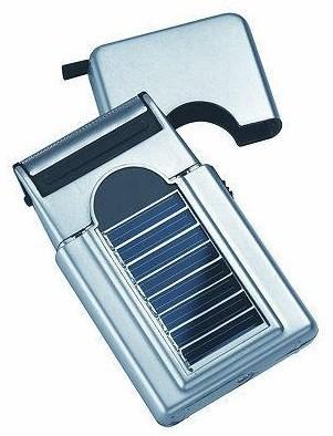 Solar razor