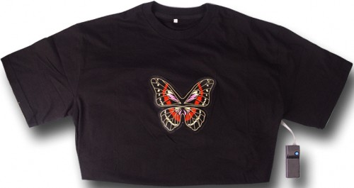 Flashing Butterfly T-Shirt