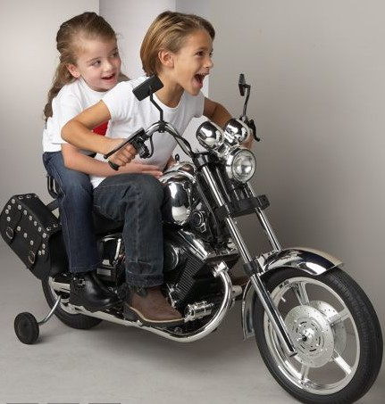 Two-Seater Motorcycle
