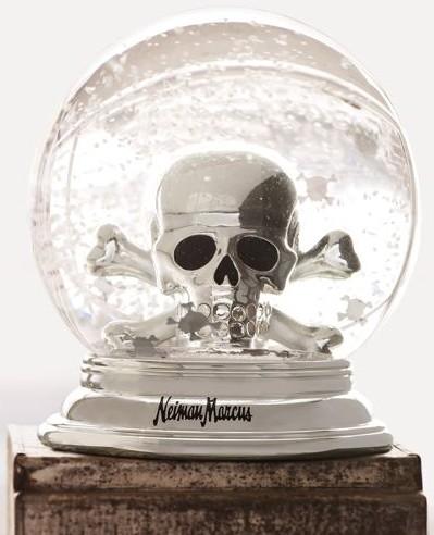 Skull Waterglobe