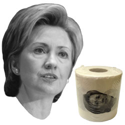 Hillary Clinton, Dick Cheney, Rosie O'Donnell Toilet Paper