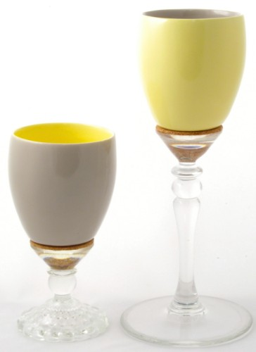 snap cup with stem