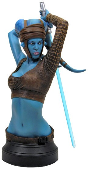 Aayla Secura Mini Bust