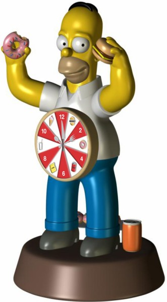 Homer Simpson Singing Alarm Clock