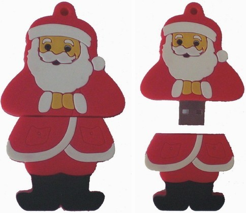 Santa Claus USB Flash Disks