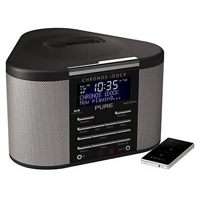 Pure Chronos i-Dock DAB Radio