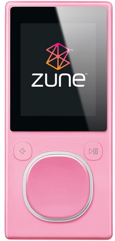 Zune 4 GB Digital Media Player Pink