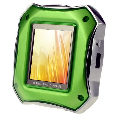 MP3 Player Green Digital Photo Frame