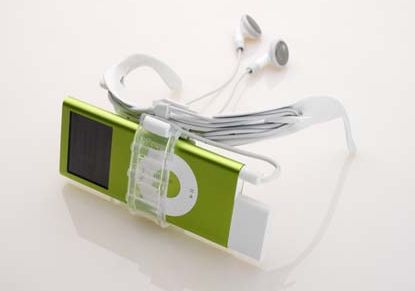 Crystal Clear iPod holder