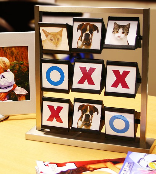 Tic Tac Toe Photoframe
