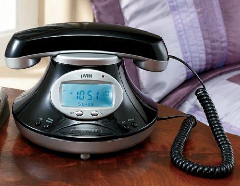 Caller ID Phone With Alarm Clock