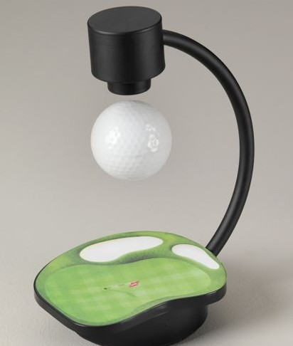 Suspended Golf Ball