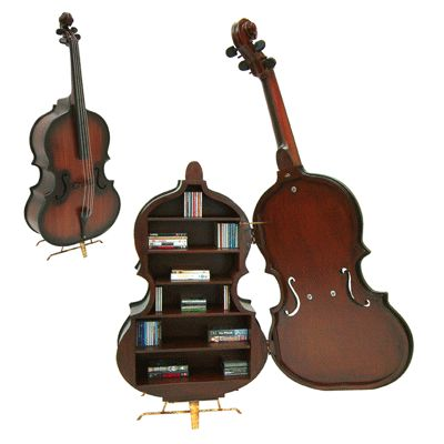 Double Bass Storage Cabinet