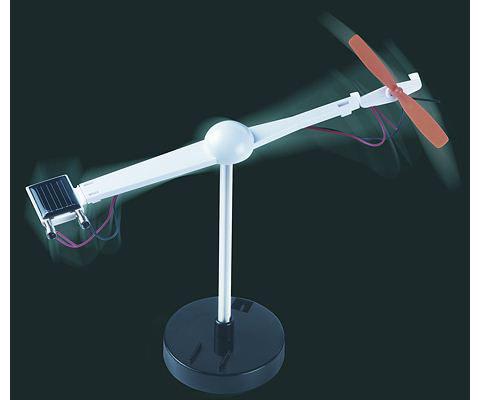 Solar Propellor Experiment