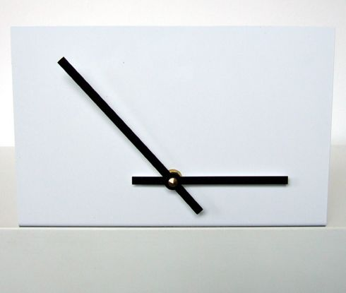 Unfinished Shelf Clock