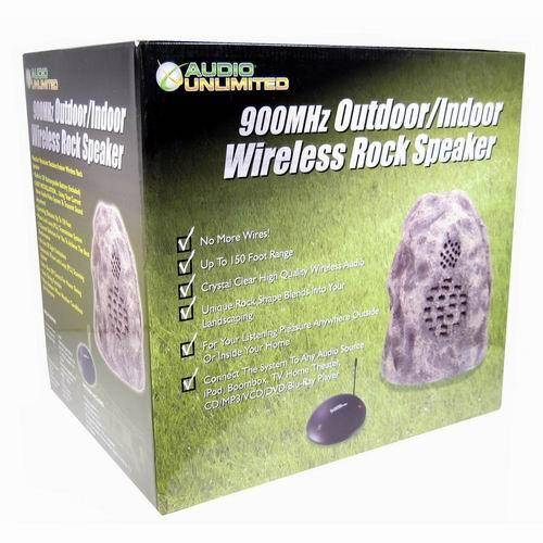 Wireless Rock Speaker System box
