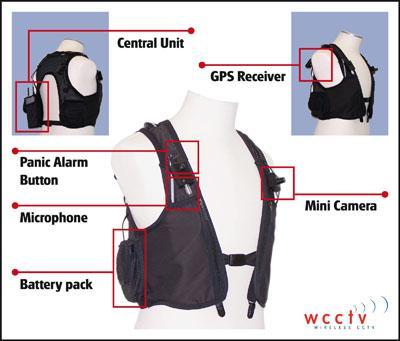3G Body-Worn Surveillance Solutions