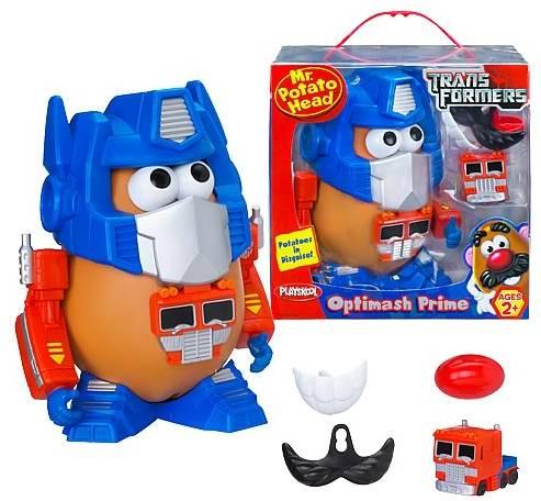 Mr. Potato Head now Transformers