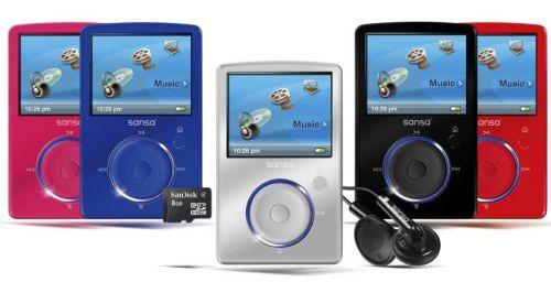 SanDisk Sansa Fuze MP3 Player