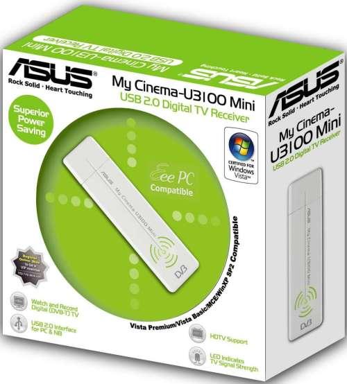 ASUS My Cinema-U3100Mini USB Digital TV Receiver