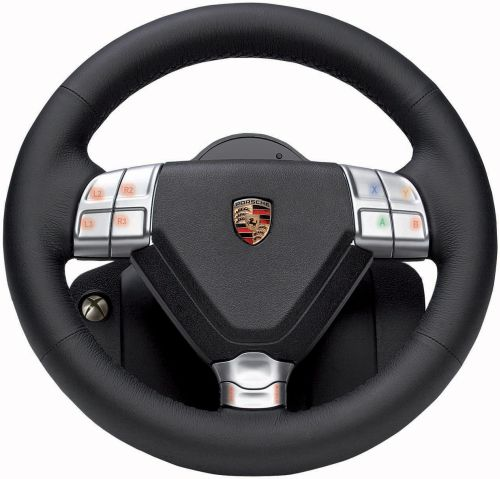 Limited Edition Porsche 911 Turbo S Racing Wheels for Xbox 360