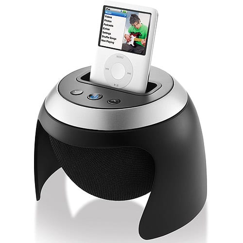 Speaker System with iPod Dock
