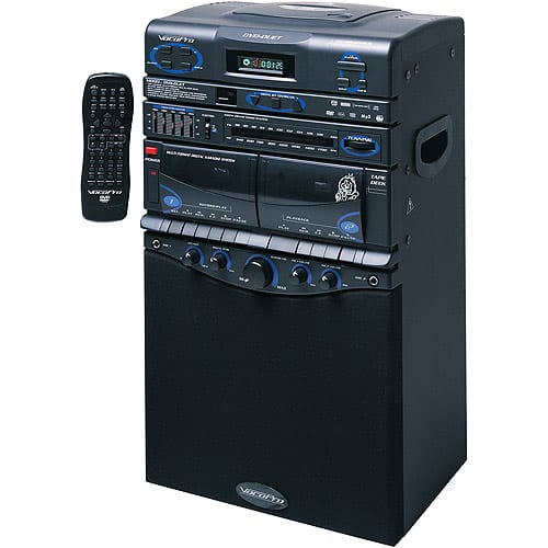 VocoPro DVD-Duet 80 Watt Multi-Format Karaoke System with iPod/MP3 Input