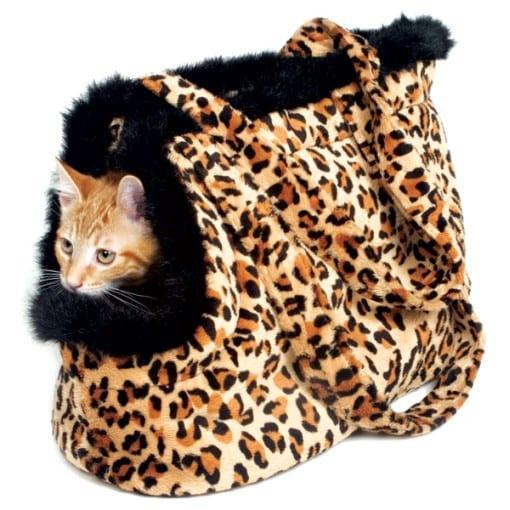 Leopard Pet Carrier