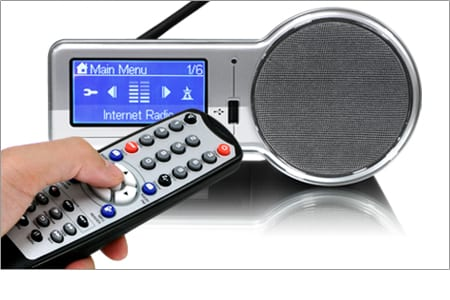 Internet Radio Alarm Clock with built-in WiFi