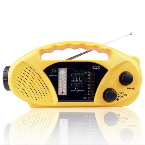 Solar + Dynamo Survival Radio