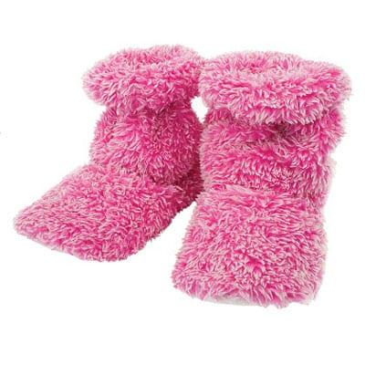 Aroma Home Pink Feet Warmers