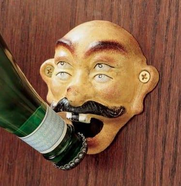 Four Eyed Drunken Sailor Bottle Opener
