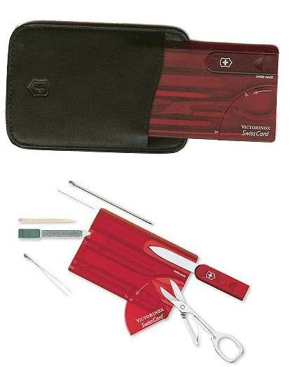 SwissCard/Holster/Gift Box