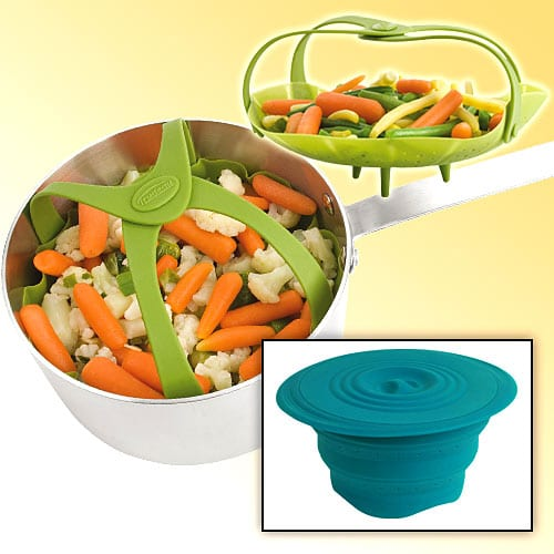 SILICONE VEGGIE AND PASTA STEAMER