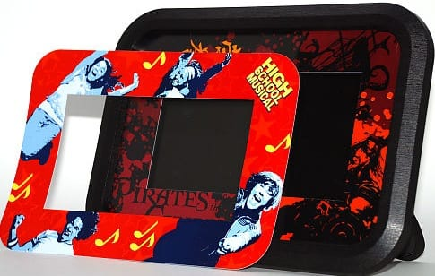 """Disney High School Musical and Pirates of the Caribbean 7"""" Digital Photo Frame"""