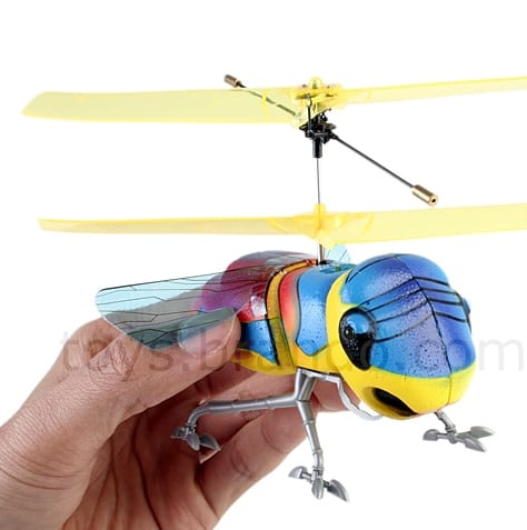 RC WINGED INSECT