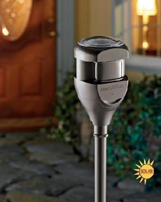 Solar Powered Motion Sensor