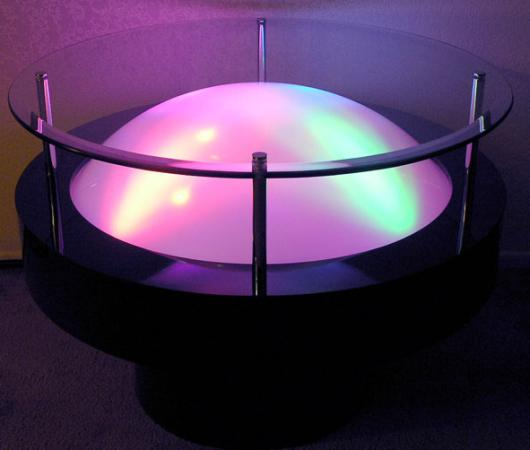 Light Energy End Table / Cocktail Table