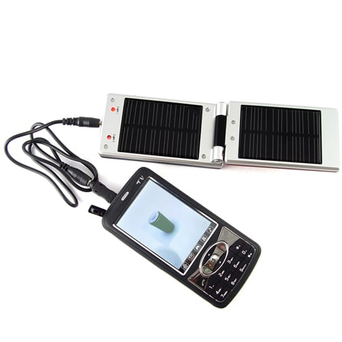 Solar Charger with Battery