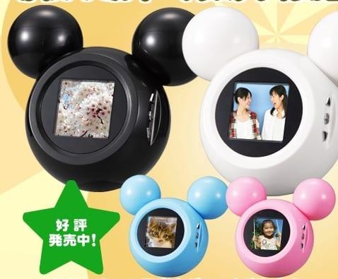 Mickey Mouse Digi-Pod Portable Digital Frame