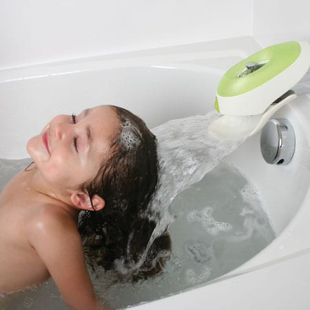 Water Deflector and Protective Faucet Cover
