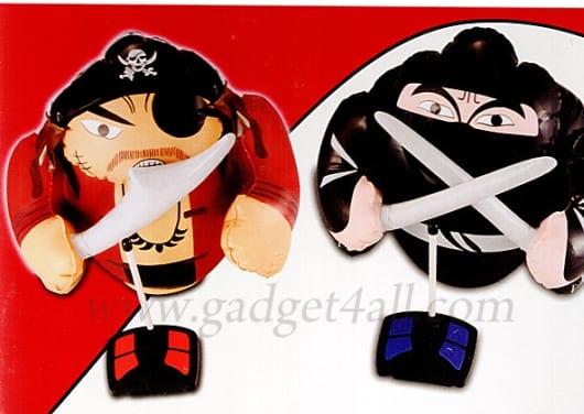 RC Ninja And Pirate