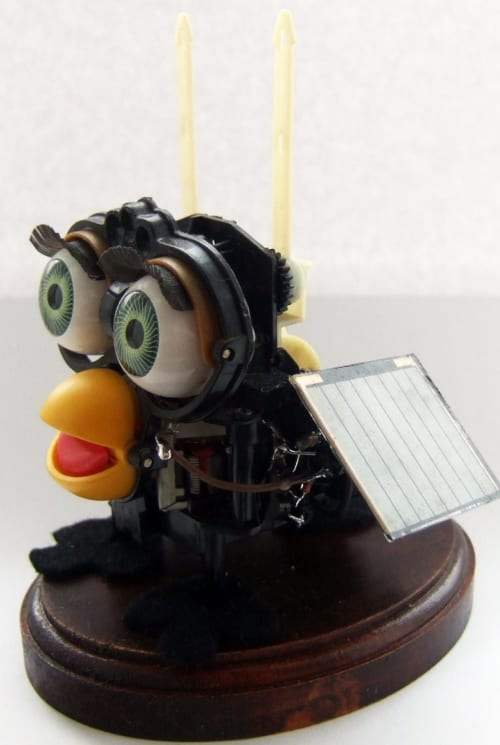 Dave the solar powered zombie furby