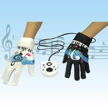 Electronic Musical Piano Gloves