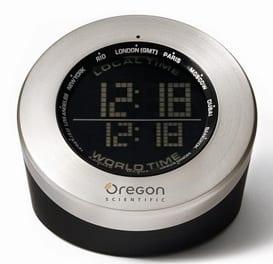 World Time Atomic Globe Clock