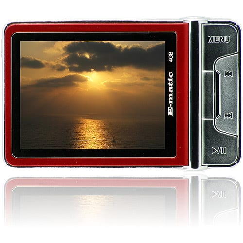 "MP3 Player with 2.4"" Screen, Camera and Video Recorder,"